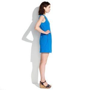 Madewell Dresses - Madewell Blue Sleeveless Dress